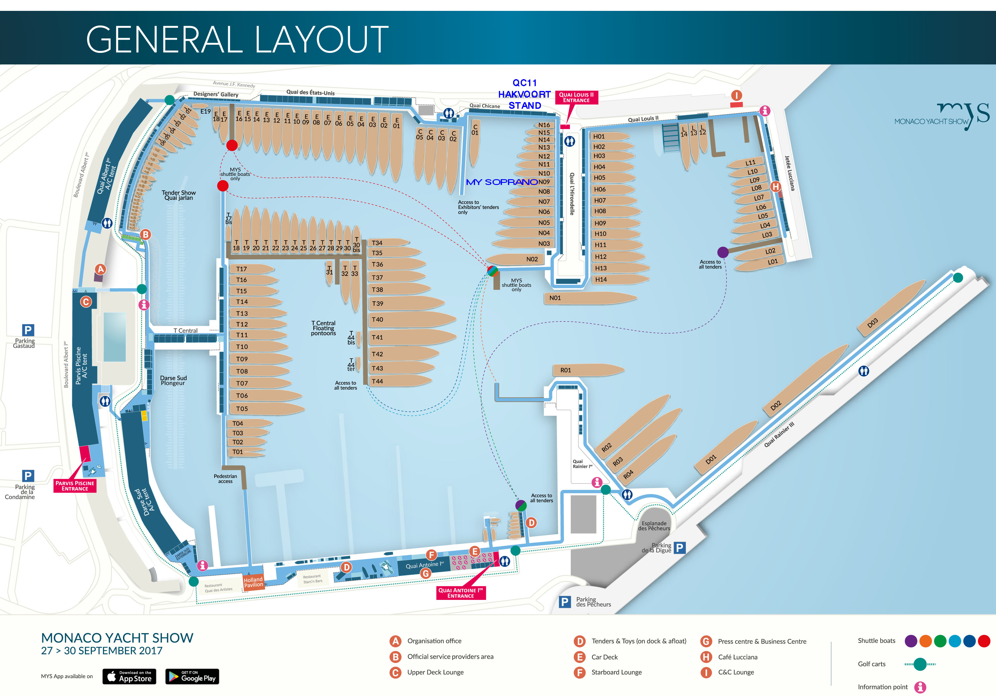 General Layout MYS